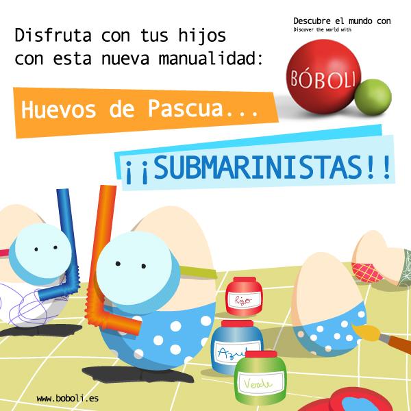 Huevos submarinistas