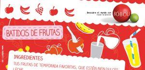 BATIDO DE FRUTAS (RECETAS BÓBOLI)