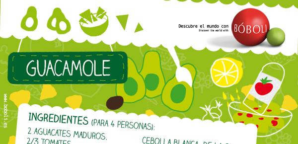 GUACAMOLE (Receta Bóboli)