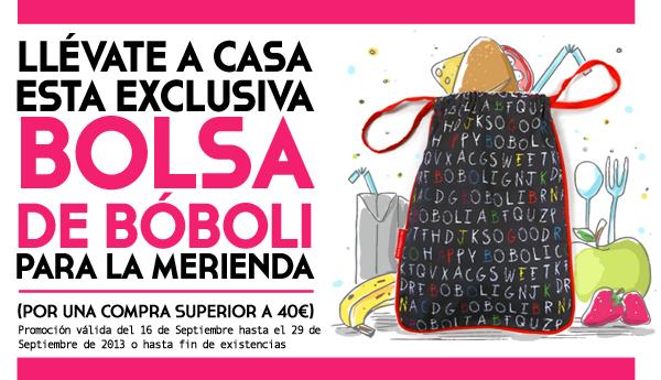 BOLSA MERIENDA BOBOLI