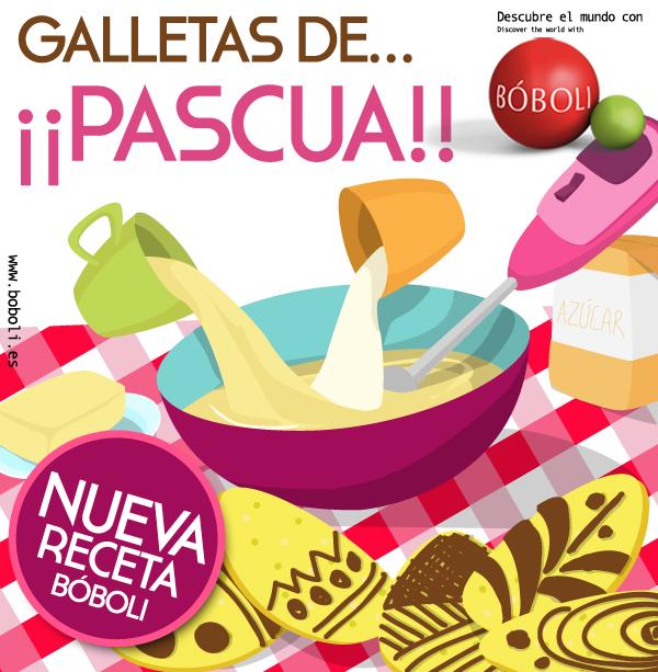 BÓBOLI RECETA: GALLETAS DE PASCUA