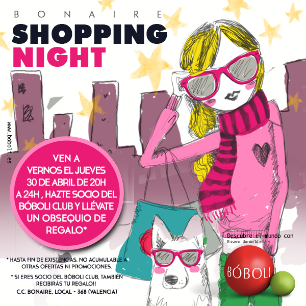 SHOPPING NIGHT BONAIRE BÓBOLI