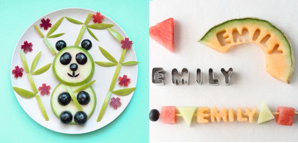 comer fruta niños