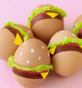 huevo hamburguesa