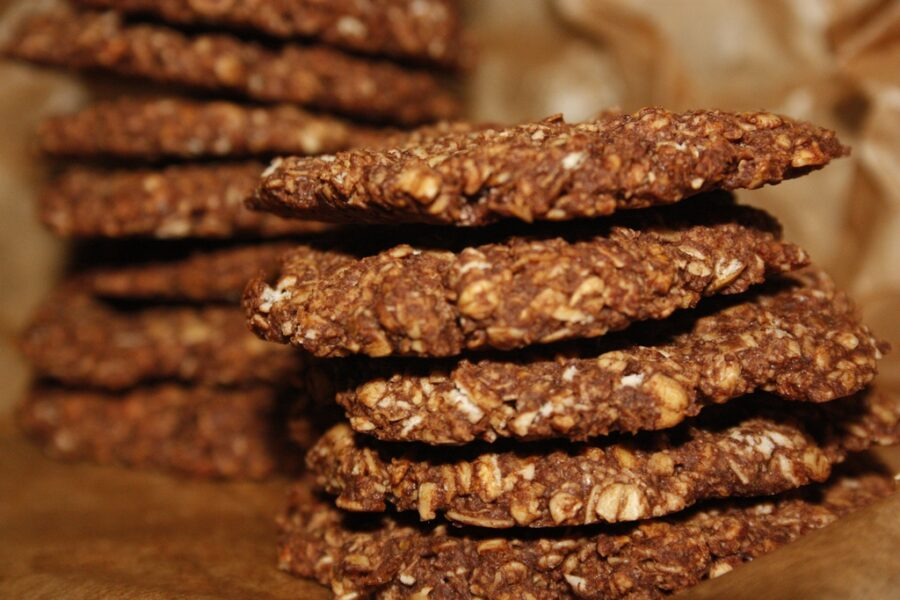 galletas avena cacao
