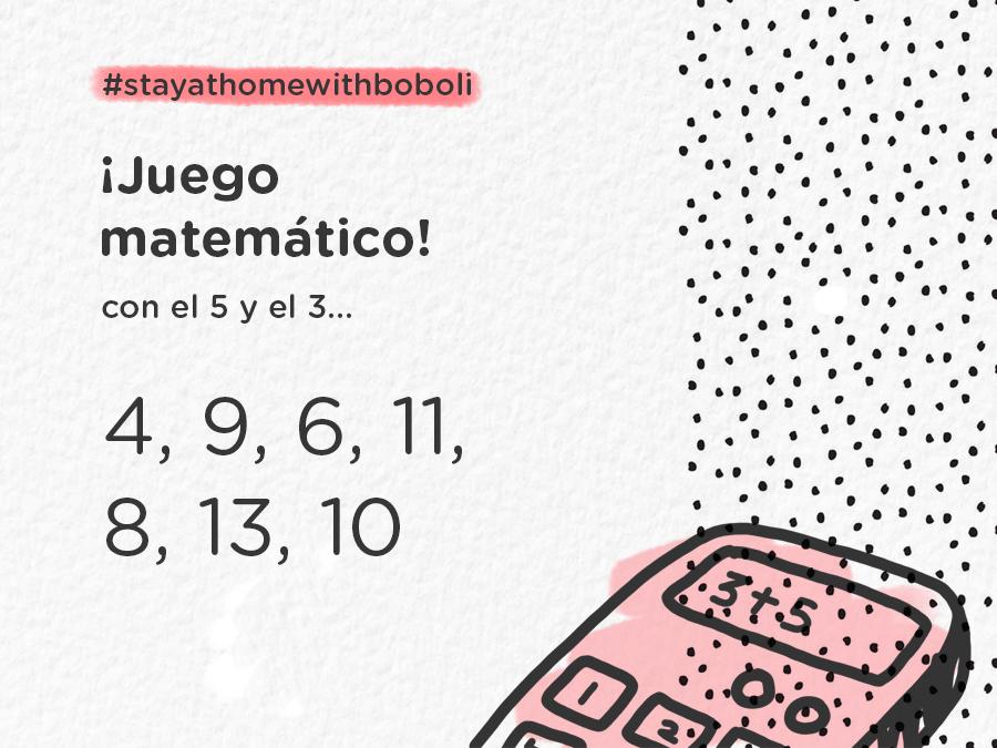 JUEGO MATEMÁTICO BLOG